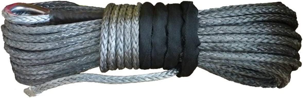 yaohuishanghang ATV 12mm X 40m Synthetic Line Winch f Rope Cable 5% OFF Limited price