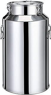 oven Bidon de Lait de Seau Scellé d'acier Inoxydable, Bière de vin de Fermenteur, Baril d'eau de Riz D'huile de Lait de St...