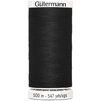 Gutermann White 500mtr//547yd Sew-All Polyester Thread 5.5x3.5x3.5 cm