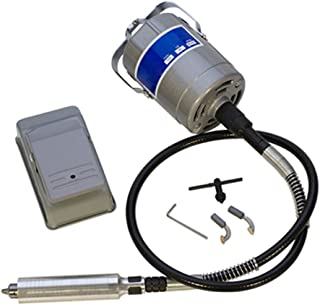 Flexible Shaft Machine 22,000 RPM 110V/60Hz 1/4HP Jewelry Making Sanding Cleaning Sanding Drilling Polishing Tool