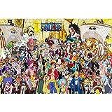 Lupovin 1000pcs Puzzle Anime One Piece Personaggio dei Cartoni Animati di Legno Jigsaw Puzzle Game for Adulti Bambini Large Size Toy Educational Games