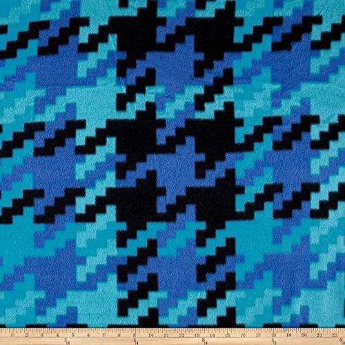 Polar Fleece Greenbriar Blue, Fabric by the Yard