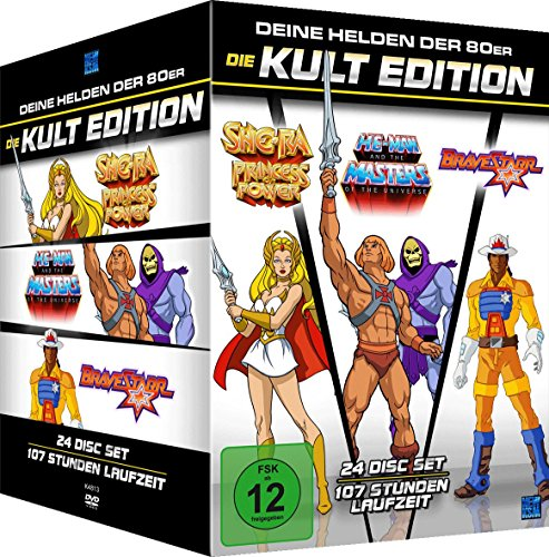 He-Man Masters of the Universe + She-Ra + BraveStarr - Die 80er Jahre Kult Edition Limitiert (24 Disc Set)