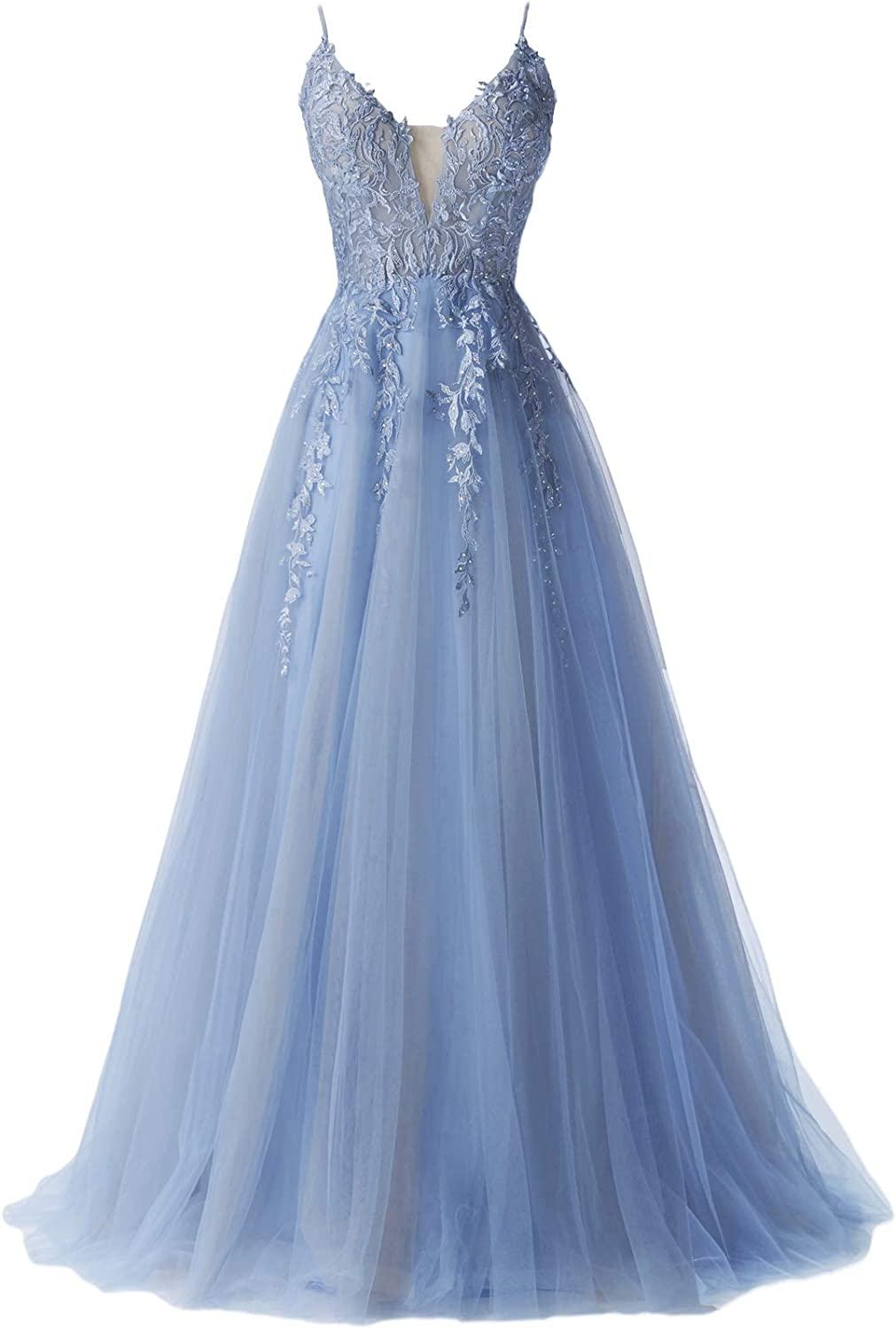 Women's Prom 完全送料無料 Dresses 2021 Formal Evening with Dress V 在庫一掃売り切りセール Beads Neck