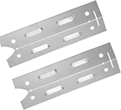 DcYourHome Stainless Steel Heat Plate (2-Pack) For Gas Grill Model Brinkmann 810-4220 and Brinkmann 810-4220-S