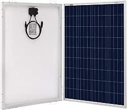 Richsolar 100 Watt Polycrystalline 100W 12V Solar Panel High Efficiency Poly Module RV Marine Boat Off Grid (1pc)