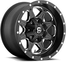 Fuel Boost black Wheel with Painted Finish (16 x 8. inches /6 x 5 inches, 20 mm Offset)