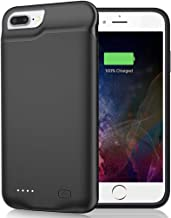Battery Case for iPhone 8 Plus/7 Plus/6 Plus/6s Plus, 6500mAh Portable Rechargeable Battery Pack Charging Case Made for iP...
