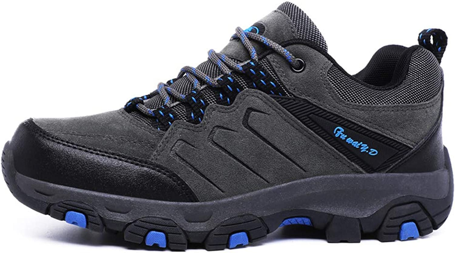Men's Hiking shoes Fall Winter New Casual Tourism shoes Non Slip Wear-Resistant Outdoor Camping shoes,B,43