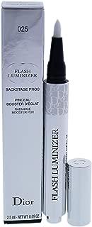 Christian Dior Flash Luminizer Radiance Booster Pen, 025 Vanilla, 0.09 Ounce