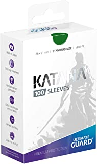 Ultimate Guard Katana Sleeves Standard Size Green (100)