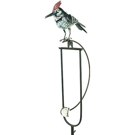 east2eden Rocking Balancing Flying Owl or Crow Metal Garden Wind Rocker Spinner Ornament Rocking Owl e2e