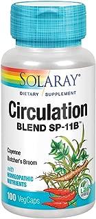 Solaray SP 11B Circulation Blend Supplement, 100 Count