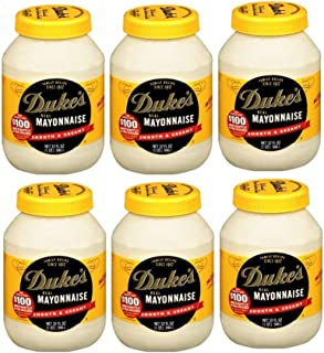 Duke's Real Mayonnaise, 32 oz. (6 pack)