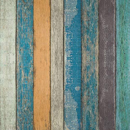 Papel Pintado Antiguo Papel Autoadhesivo Papel Pintado Adhesivo Extraíble Decoración Retro Muebles de Cocina Dormitorio Sala de Estar Pegatinas Papel de Contacto Impermeable