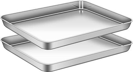 design de qualité 97e56 a0ae5 Amazon.fr : Inox - Plaques à pâtisserie / Plaques et grilles ...