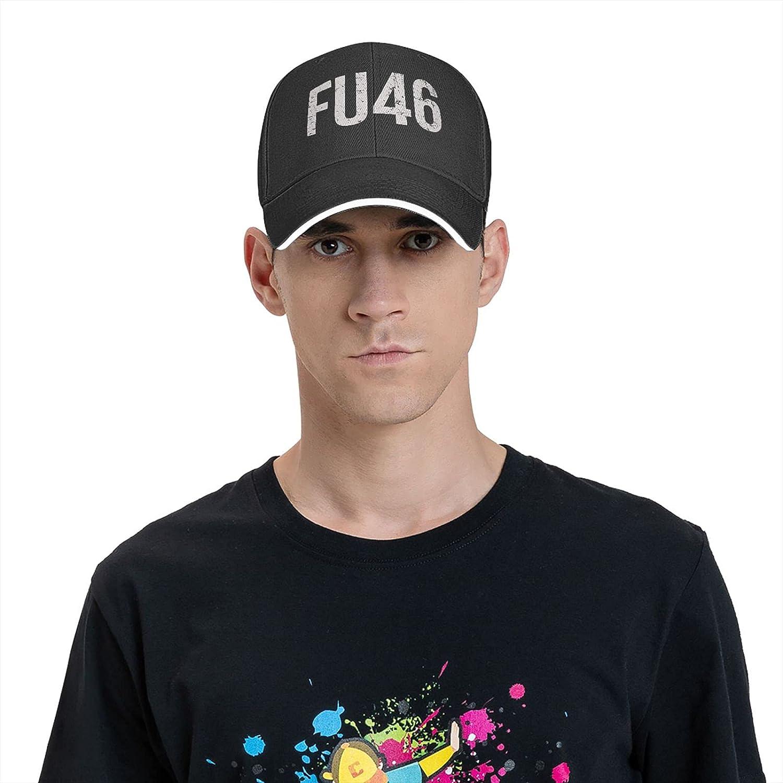 Fu46 Anti Joe Biden. Funny Baseball Cap Truck Driver Cap Cowboy Hat Adjustable Skull Cap Dad Hat for Unisex Black