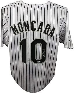 Yoan Moncada Autographed Chicago White Sox Custom White Baseball Jersey - BAS COA