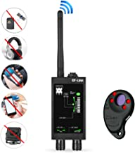 CHHLIUT RF Signal Detector GPS Tracker Finder Camera Scanner Detectors Anti Spy Bug Sweeper Lens CDMA GSM Device Finder Mo...