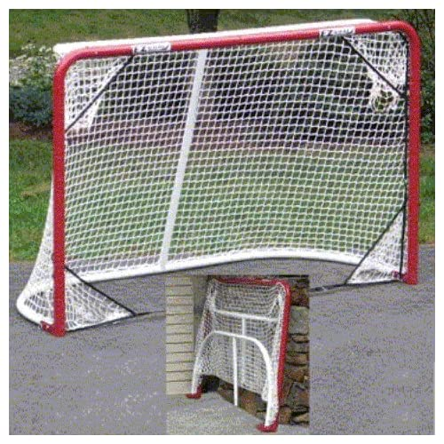 EZGoal 67109 Monster Steel Tube Heavy-Duty Official Regulation Folding  Metal Hockey Goal Net f7683d37b
