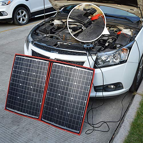 charging 12v battery by solar power