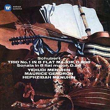 Schubert: Piano Trio No. 1, D. 898 & Sonatensatz, D. 28