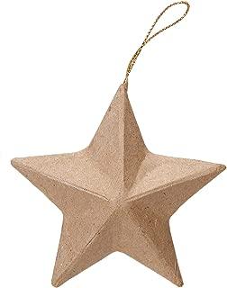 Darice DIY Crafts Paper Mache Ornament 3.25