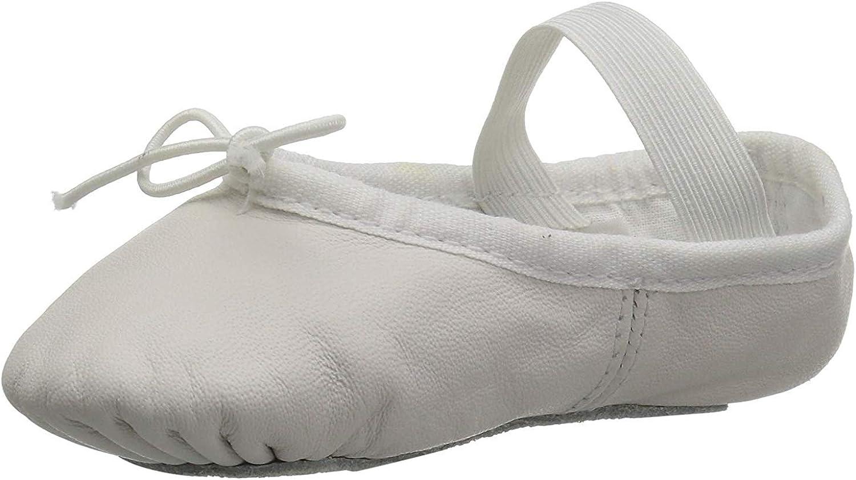 Bloch Unisex-Child Dance Toddler's Dansoft Full Sole Leather Ballet Slipper/Shoe