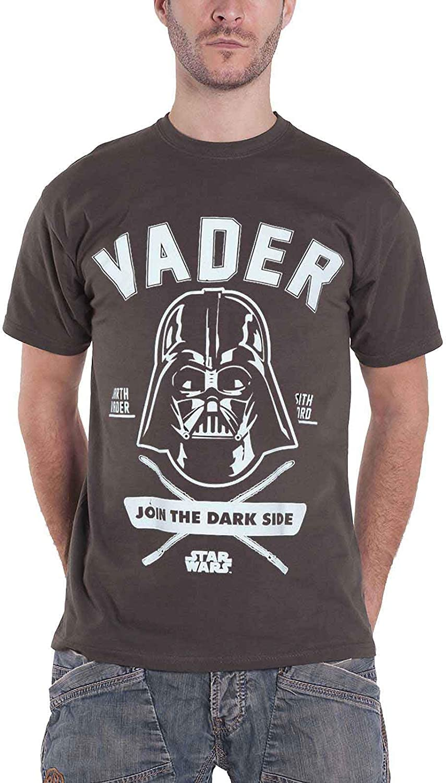 Disney Star Wars Darth Vader Join The Dark Side T-shirt tee-shirt à encolure ras-du-cou homme