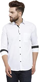 Jainish Men's Cotton Casual Shirt(