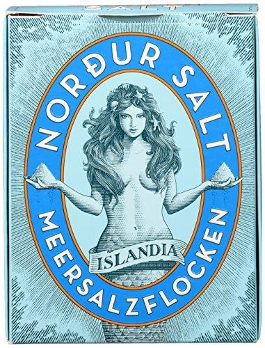 Nordur Isländische Meersalzflocken natur, 2er Pack (2 x 250 g)