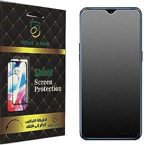 شاشة حماية شفافة من السيراميك بتكنولوجيا النانو مضادة للبصمات والصدمات من واتس موب لموبايل سامسونج جالاكسي M32