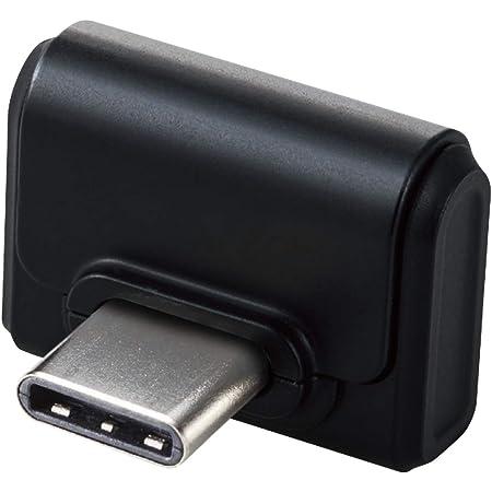 エレコム USメモリ 小型 16GB USBタイプC USB3.0/USB3.1(Gen1)対応 ブラック MF-CDU31016GBK
