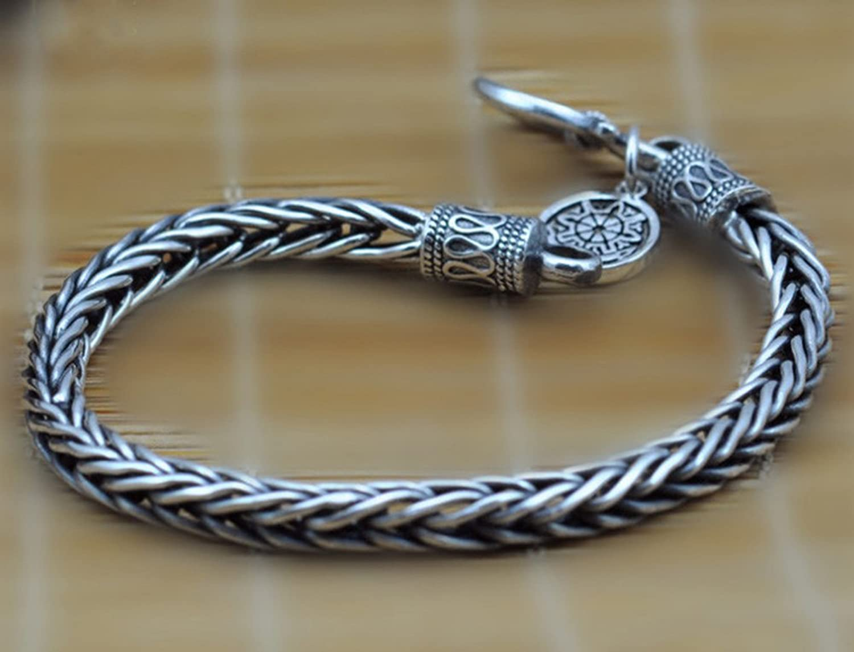 SaySure - 925 Sterling Silber Men Men Men bracelet dragon bone B0171CIX9E  Hervorragende Eigenschaften 069c74