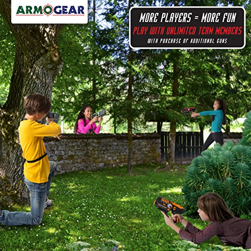 ArmoGear Infrared Laser Tag Blasters and Vests - High-Quality Laser Tag Equipment