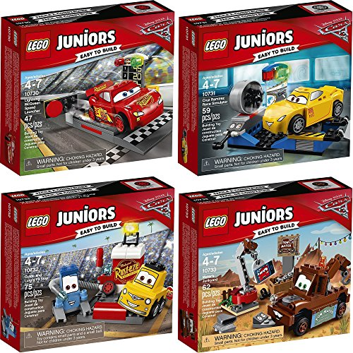 LEGO Juniors Disney Cars Set 10730 10731 10732 10733