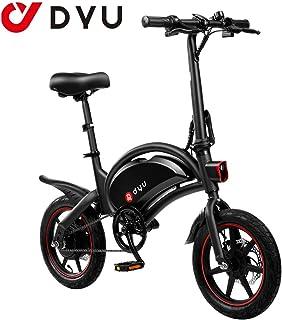AmazeFan DYU D3F Bicicleta eléctrica Plegable de montaña,