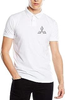 SHENGN Customized Comfortable Mens Top Mitsubishi Automobile Logo Polo T Shirt