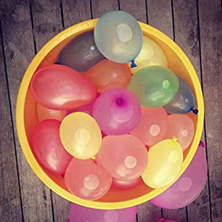 MQLH-TECH Water Balloons Fight Games Sports Summer Splash Fun 222 Balloons for Kids & Adults Party Game Quick Fill Latex Water Bomb Game