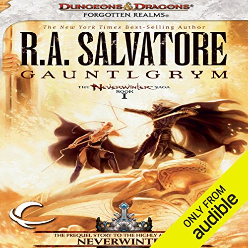Gauntlgrym     Legend of Drizzt: Neverwinter Saga, Book 1              Auteur(s):                                                                                                                                 R. A. Salvatore                               Narrateur(s):                                                                                                                                 Victor Bevine                      Durée: 13 h et 40 min     18 évaluations     Au global 4,8