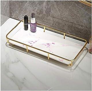 Étagère d'angle Douche Salle de bains Rangement Support parfait for Make Up Table en métal Organisateur Boîte de rangement...