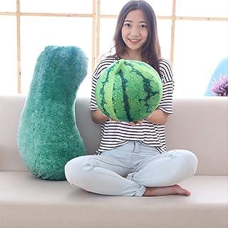 Linda Simulación Grande Sandía Peluche De Juguete Creativo Fruta Vegetal Almohada Almohada Cojín Dormir Almohada Larga 25 Cm