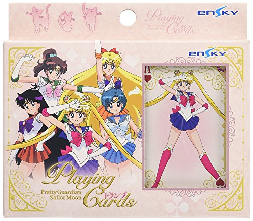 Ensky Sailor Moon Playing Cards'Trump Card 54 Cards + 2 Spare Cards'