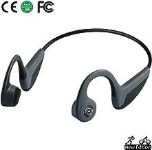 Bone Conduction Headphones Bluetooth 5.0 Open-Ear Wireless Sports Headsets w/Mic for..