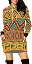 aztec sleeve jumper dress