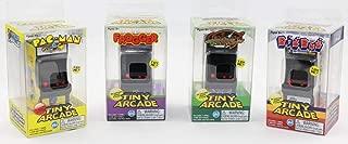 Tiny Arcade Set of 4 - Pac-Man ~ Galaga ~ Frogger ~ Dig Dug
