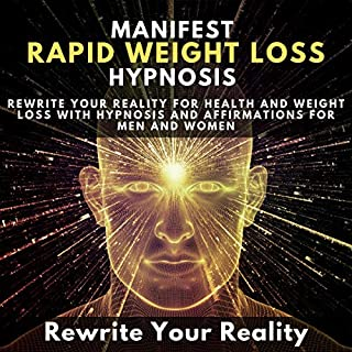 Manifest Rapid Weight Loss Hypnosis audiobook cover art
