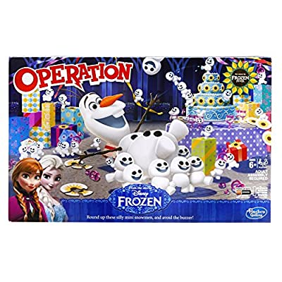Operación Disney Frozen Juego de funcionamiento-P