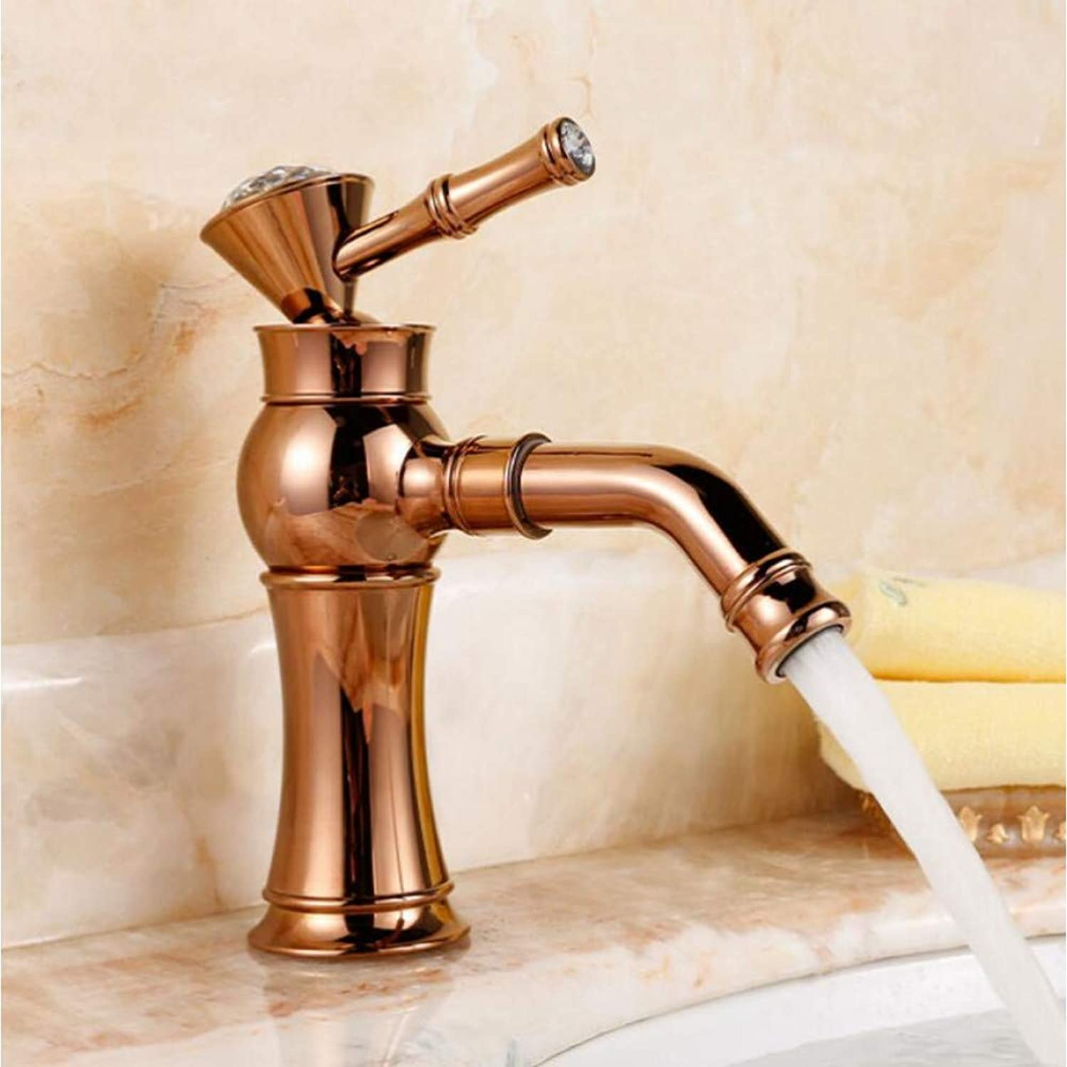 YHSGY Kitchen Taps Modern gold Faucet gold Bathroom Faucets gold Finish Basin Faucets gold Tall High Bathroom Sink Faucet Water Tap