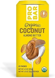 PROBAR - Nut Butters, Coconut Almond Butter Plus Caffeine, Non-GMO, Gluten-Free, USDA Certified Organic, Healthy, Plant-Ba...